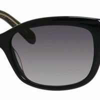 Kate Spade - Johanna S Black Sunglasses / Gray Gradient Lenses