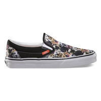 Vans Aspca Classic Slip-On Womens Shoes Dogs  In Sizes