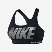 The Nike Pro Classic Padded Graphic Women's Sports Bra.