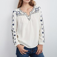 CHANTEL EMBROIDERED TOP - The Latest - Women