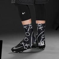Playbook Black Spats / Cleat Covers