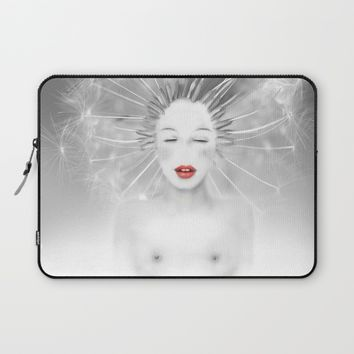 Connexion Laptop Sleeve by LilaVert | Society6