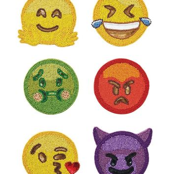 Emoji 2.0 Coasters (Set of 6)