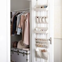 Over The Door Modular Fabric Storage