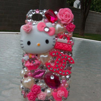 Hello Kitty Rhinestone iPhone Cases