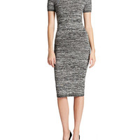 French Connection Bodycon Tea Length Dress
