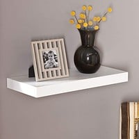 "Chicago Floating Shelf 24"" - White"
