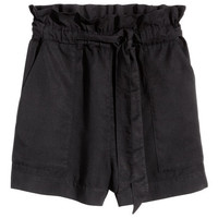 Lyocell Shorts - from H&M