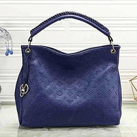 LV Louis Vuitton New Fashion Monogram Women Fashion Leather Shopping Leisure Handbag Tote Shoulder Bag