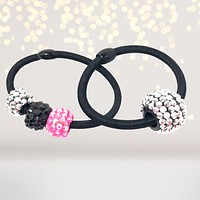 Candy Chip Sparkle Ponytails and DIY crafts