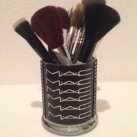 MAC Cosmetics inspired makeup brush holder