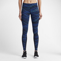 The Nike Power Epic Lux Women's Printed Running Tights.