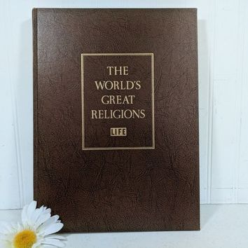 The World's Great Religions Book from the LIFE Series / Time Incorporated Large Coffee Table Size Book