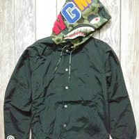 Camouflage Couple Casual Windbreaker Jacket [10567305607]