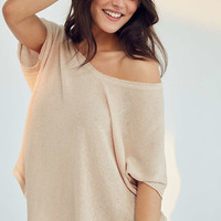 Out From Under Frankie Oversized Thermal Tee - Urban Outfitters