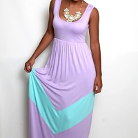 Walk This Way Maxi in Lilac