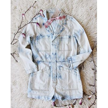 Soft Wash Short Coveralls