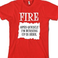 Fire Sauce-Unisex Red T-Shirt