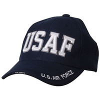 Military Cap- USAF Text