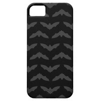 Grey Bat Silhouette iPhone 5/5s Case