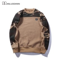 Pullover Hoodies Winter Camouflage T-shirts [259924197405]