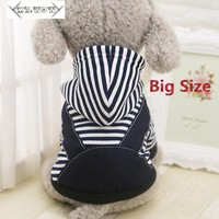 XS-7XL New Fashion Big Dog Clothes Dogs Winter Coat Dog Clothes Hoodie Sweater Costumes Coat for Handsome Cute Puppy