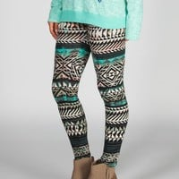 FULL TILT Ethnic Arrow Leggings