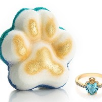 Pawsome - For the Love of Pets Collection - Bath Bomb With a Ring and a Chance to Win a $10k Ring