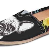 Artsy Frenchie Casual Shoes