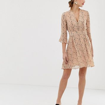 Y.A.S spotted skater dress   ASOS