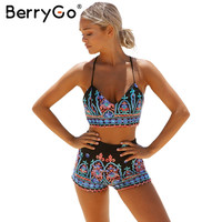 BerryGo Embrodery flower elegant jumpsuit romper Sexy 2017 beach v neck strap summer jumpsuit women outfit playsuit overalls