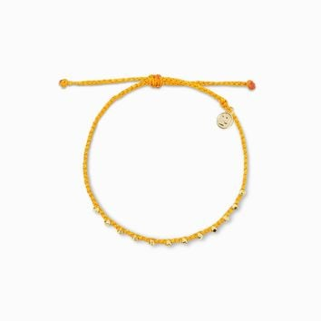 Stitched Beaded Anklet