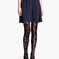 Lace Tights - from H&M