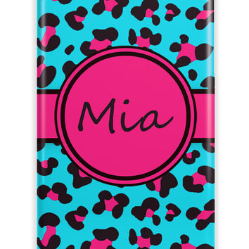 CUTE CHEETAH PRINT - PERSONALIZED IPHONE CASE