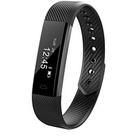 Bluetooth Smart Band Fitness Tracker Smart band Activity Wristband Pedometer for Android
