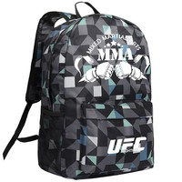 MMA Backpack Box ing Shoulder UFC Memory Gifts Daypack for Friends