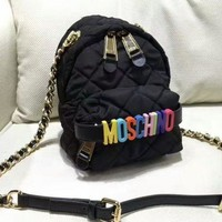 VONE05KC MOSCHINO Casual Shoulder SchoolBag Satchel Handbag Backpack bag