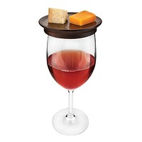 Wine Glass Topper Appetizer Plates by Twine®