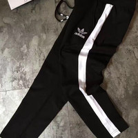 """Adidas"" Women Fashion Leisure Sports Pants (7 Points Long)"