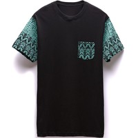Young & Reckless Cold Blooded Pocket T-Shirt - Mens Tee - Black