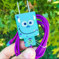 Monsters Inc Sulley iPhone 5/6/7 Charger
