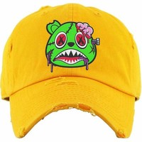 Zombie Baws Gold Dad Hat