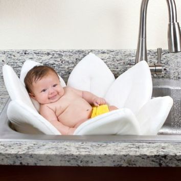 Blooming Bath™ Baby Bath in White