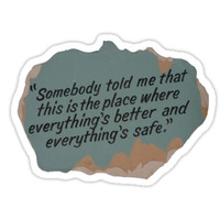 'One Tree Hill quote' Sticker by stickerzzz