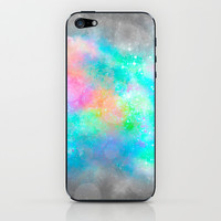 The Soul Becomes Dyed With the Colors of it's Thoughts (Galactic Watercolors) iPhone & iPod Skin by soaring anchor designs ⚓   Society6