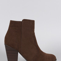 Breckelle Western Flair Booties