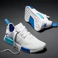 Adidas NMD r1 breathable woven sports casual running shoes sneakers