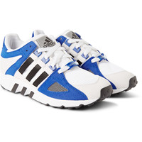 adidas Originals - Equipment Running Guidance 93 Faux-Suede and Mesh Sneakers   MR PORTER