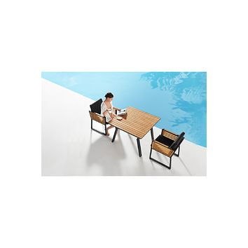 Outdoor Dining Set (4 Chairs) | Higold New York