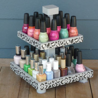 Nail Polish 2 Tier Table Top Organizer